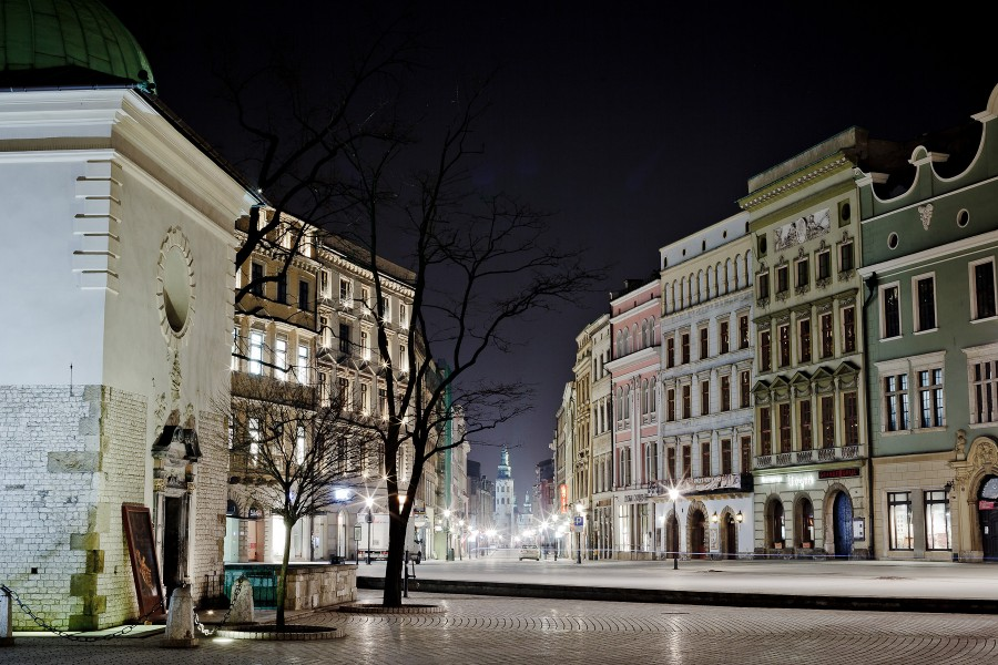 ulica Grodzka, Rynek Główny, kościół świętego Wojciecha